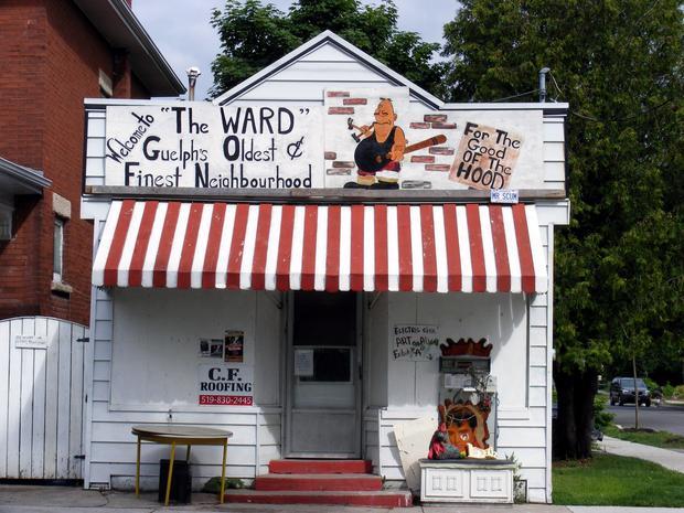 Weird ward building post 1