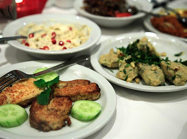 Lillian, armenian food