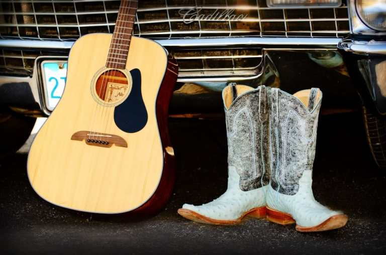guitar-cowboy-boots-cadillac-wallpaper-preview