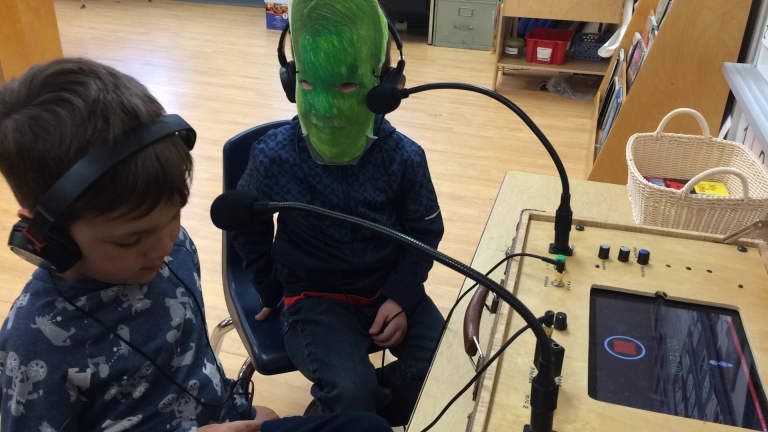 Kindies (green face)